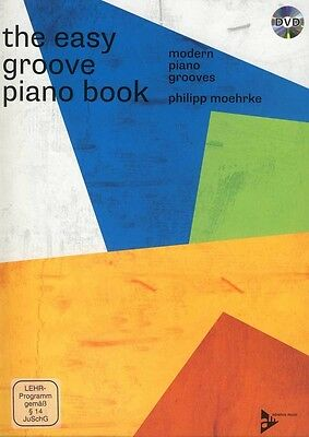 the easy groove piano book • modern piano grooves • Klavier Noten+DVD