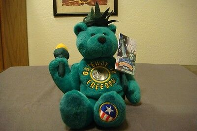 """New Limited Treasures Coin Bear """"gateway To Freedom"""" Quarter Bear"""