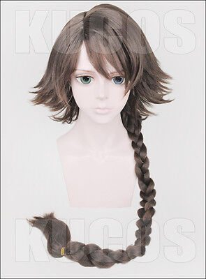 Cosplay wig Final Fantasy Ⅹ YUNA Woman Anime Brown long fringe hair wigs