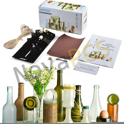 AGPTEK Glass Bottle Cutter Kit Bottle Cutting Machine Kit DIY Tool Set Recycle