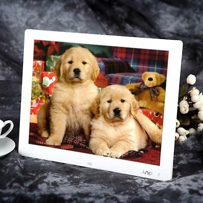 """15""""inch TFT-LCD HD16:9 Digital Photo Frame Picture Album MP4 Movie Player Remote"""