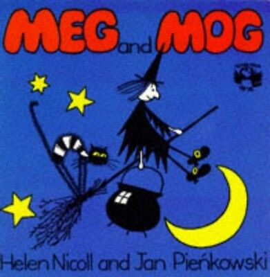 Meg and Mog (Picture Puffin), Pienkowski, Jan Spiral bound Book The Cheap Fast