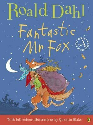 Fantastic Mr Fox (Colour Edn) by Dahl, Roald Paperback Book The Cheap Fast Free