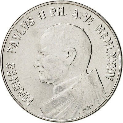 [#46896] VATICAN CITY, John Paul II, 50 Lire, 1984, KM:179