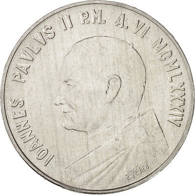 [#46898] VATICAN CITY, John Paul II, 10 Lire, 1984, KM:177