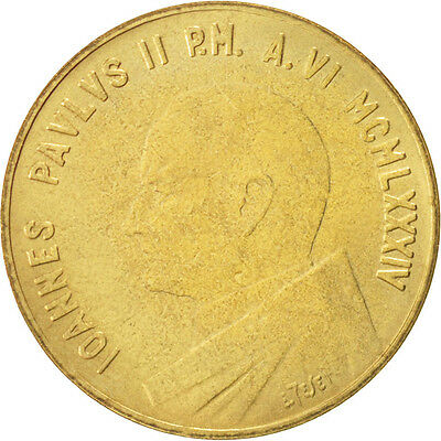 [#46897] VATICAN CITY, John Paul II, 20 Lire, 1984, 145422