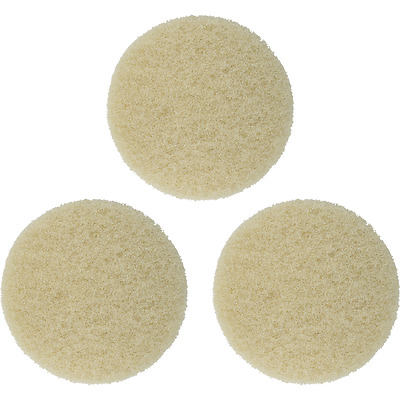 "8"" Cimex Beige Pads For Carpet Scrubbing- Fp1"