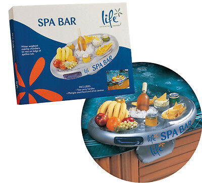 Life Spa Bar. Floating Spa Bar for drinks. Spa Accessory. Great Gift Idea!