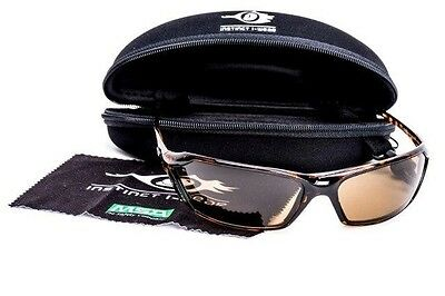 MSA PREMIUM Safety Glasses Brown Tint Lens FOG SCRATCH IMPACT RESISTANT RRP$90