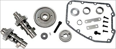 S&S Cycle 551 EZ Easy Start Gear Drive Cams .550 Lift Harley Twin Cam 07-16