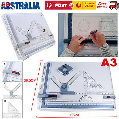 Portable Architectural A3 Drawing Board Graphic Design Rapid Drafting Work Table