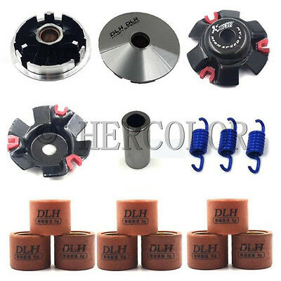 Racing Variator Kit with Roller Weights for GY6 JOG 50cc 1PE40QMB  Scooter