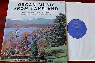 Organ Music From Lakeland Lp Tristram Grosvenor Grs 1004 Nm- (1971)