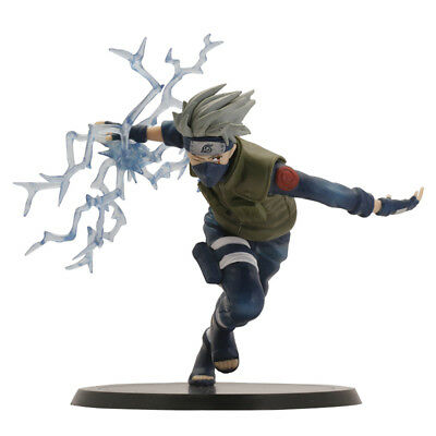 Hot 5'' Collect Naruto Kakashi Hatake Lightning Release PVC Figure Anime Toy