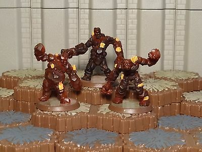 Obsidian Guards - Heroscape - Volcarren Wasteland Figures - Free Ship Available