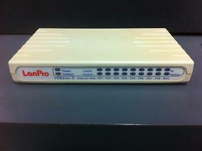 LanPro 10BASE-T 8-Port ETHERNET HUB