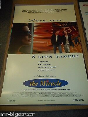 The Miracle - Original Rolled Ss Poster - 1991 - Neil Jordan