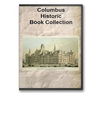 Columbus, OH Ohio History Culture Family Genealogy 7 Book Set - D61