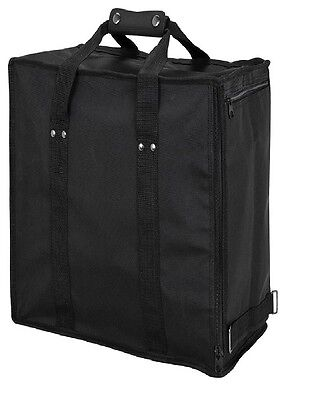 Large Jewelry Case Black Carrying Case Travelling Case Holds (17) Trays