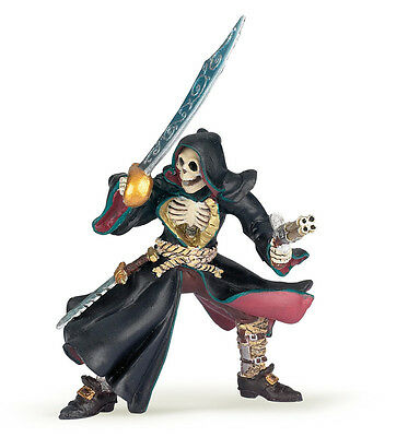 BRAND NEW PAPO 38919 Death Head Pirate Skeleton 8.5cm - Fantasy Magic - RETIRED