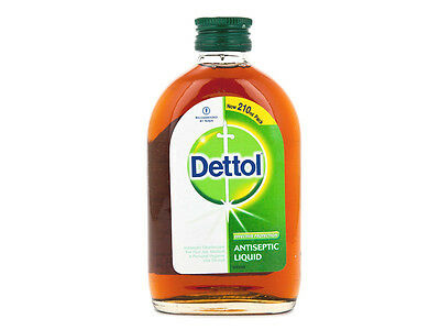 210ml Dettol Antiseptic Liquid Soap First Aid Cleaner Disinfectant Tattoo