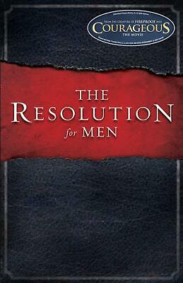 The Resolution for Men by Stephen Kendrick (English) Paperback Book Free Shippin