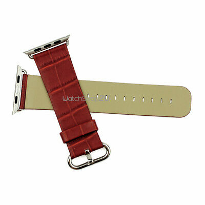 Genuine Leather Watch Strap WristBand Replacement For  iWatch 38/42mm