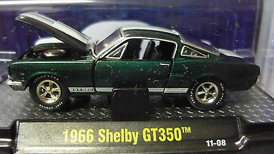 1966 Mustang  GT350    1:64 Scale M2 Diecast
