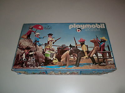 Playmobil Klicky 3407 Superset 7er Set Mexikaner Sheriff Bankier Cowboy Ovp