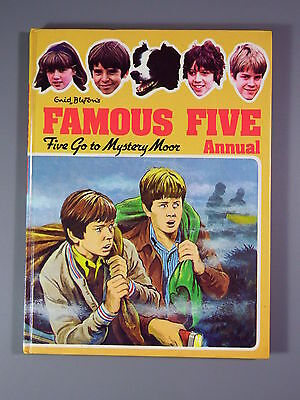 R&L Vintage Book: Enid Blyton's Famous Five Annual 1980, Five go to Mystery Moor