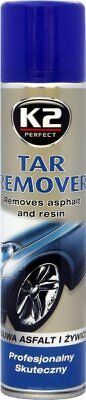 K2 Car | Tar Asphalt Remover | Tree Sap Bird Droppings Stain Remover 300ml