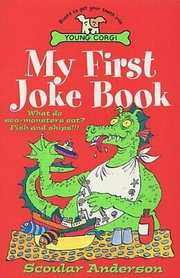 My First Joke Book (Young Corgi) by Anderson, Scoular Paperback Book The Cheap
