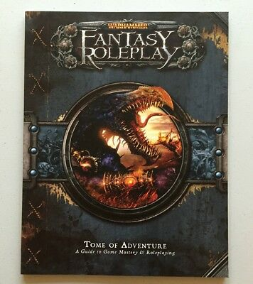 Games Workshop Warhammer Fantasy Roleplay Tome Of Adventure Game Mastery