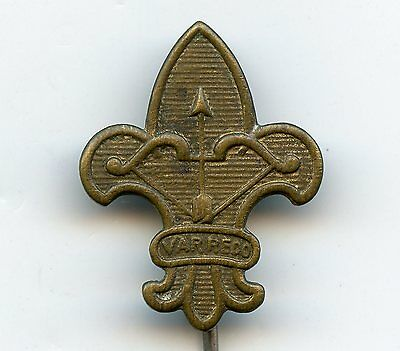 Sweden Boy Scout Old Badge Nice Grade !!!