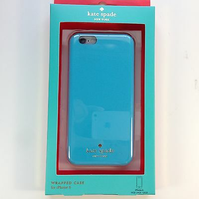 Brand NEW Sealed Kate Spade New York Wrapped Case for iPhone 6 & 6s Light Blue