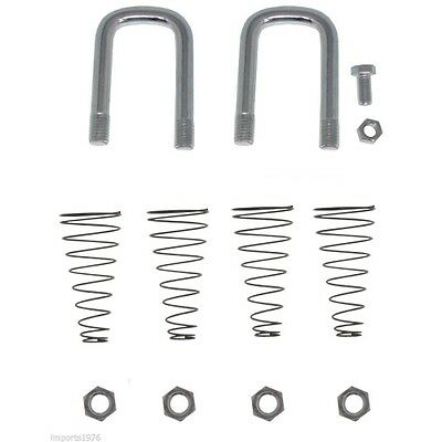 B&W HITCHES 1900-2-1600 Replacement Safety Chain U-Bolt Kit 1900-2-1600 : New