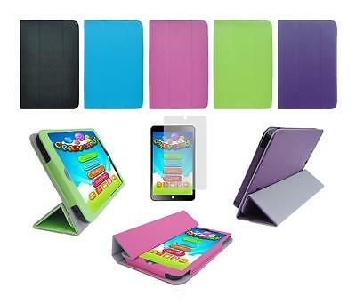 """Folio Skin Cover Case and Screen Protector for DigiLand DL808W 8"""" Windows Tablet"""