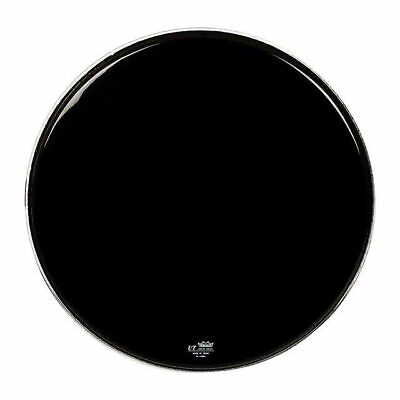 "Remo 22"" Ebony Powerstroke 3 Black Resonant UT Bass Drum Head"