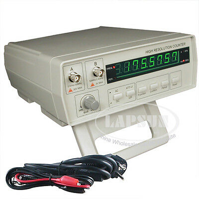 VC3165 0.01~2.4GHz 110V-240V AC Radio Frequency Counter RF Meter Test Tester New