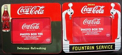 Coca Cola Tins - 2 Different Tins - New - Coke