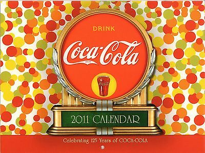 Coca Cola Coke - 2011 Wall Calendar - New !!  C