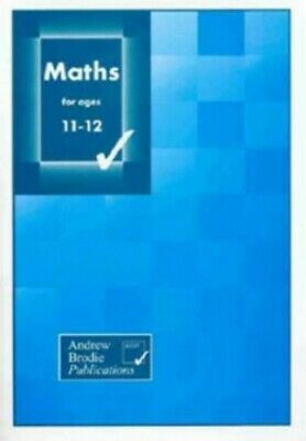 Maths for Ages 11-12 by Culham, Keith Paperback Book The Cheap Fast Free Post