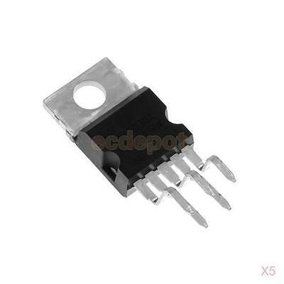 5Pcs IC TDA2030 - Hi-Fi AUDIO AMPLIFIER DRIVER TO-220 Package