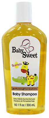 Baby Sweet Baby Shampoo Tearless Gentle Enough For New Borns 300ml
