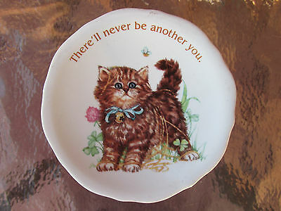 Vintage Kitty Cat Refrigerator Magnet There Will Never Be Another You 2.5''