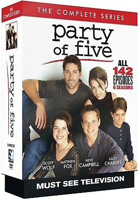 PARTY OF FIVE 1-6 (1995-2000): COMPLETE Teen Drama TV Season Series - NEW R1 DVD