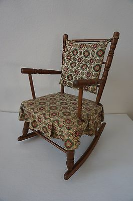 Hedstrom - Union CO. Children's Rocking Chair Stunning Vintage Look, Fabric GR8