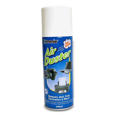 2x COMPRESSED AIR DUSTER CLEANER CAN Laptop PC Keyboard Camera Lens & Others