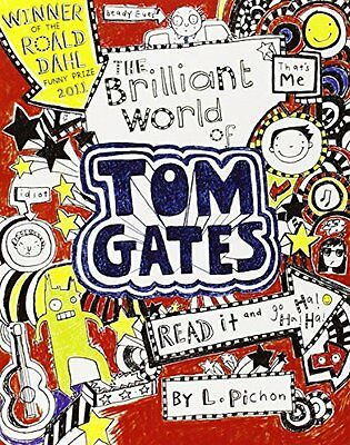 The Brilliant World of Tom Gates, Pichon, Liz Paperback Book The Cheap Fast Free