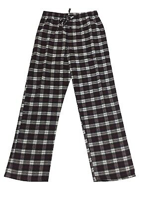 Men Sleepwear Cotton Thermal Lounge Pajama Pant Monte Carlo Polo & Jockey M-2X